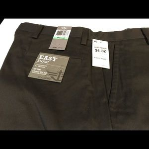 Dockers Signature Khakis Classic Fit Dark Grey/Bla